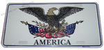 USA Eagle license plate
