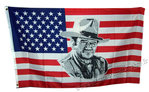 JOHN WAYNE USA flag