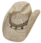 « Sea grass » straw hat