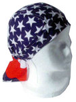 USA flag head wrap