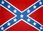 Confederate large flag