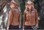 MONROE cowgirl blouse
