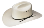 Shantung white hat