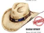 Eagle Spirit hamdmade hat59