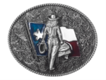 Texas Cowgirl belt buckle