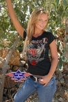 T-shirt COWGIRL BLACK