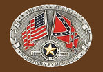 « southern by heritage» belt buckle