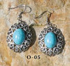 « turquoise cowgirl » earrings