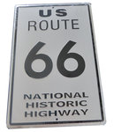 Big ROAD 66 license plate