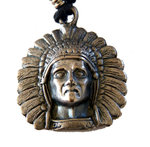 Indian chief necklace