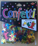 Confettis western multi-colors