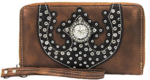 Brown cowgirl wallet