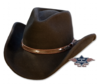 Black Dallas felt hat