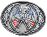 "Boucle ""Proud to be an American"""