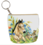 Horse and rabit coin purse