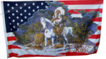 USA Indian Chief little Flag